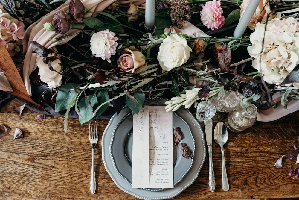 industrial luxe wedding inspiration