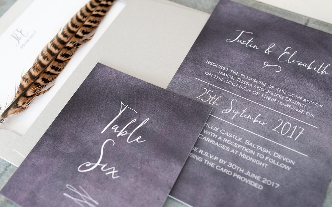 When to Order Wedding Stationery and What to Expect
