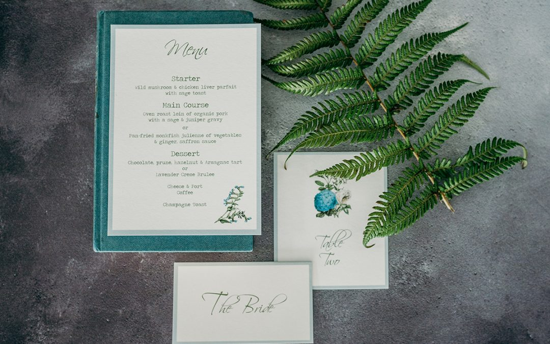 Everything You Need to Know About Reception Stationery