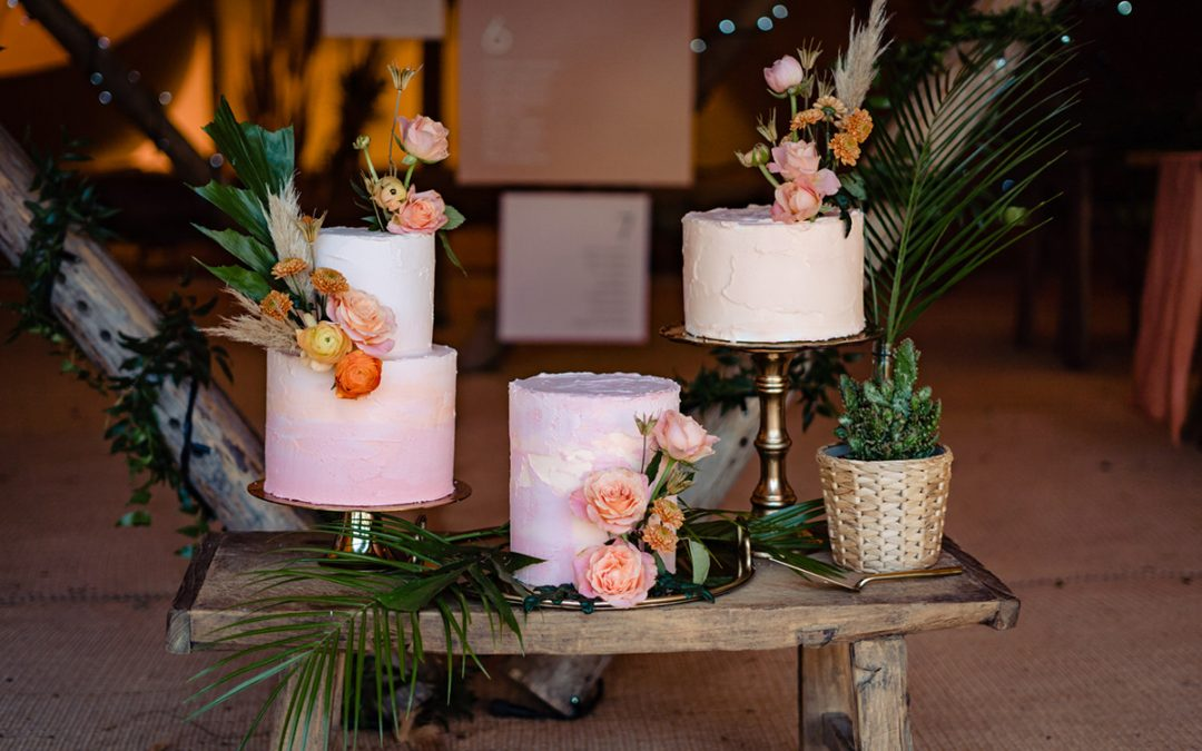 How to Style a Cake Table or Dessert Station