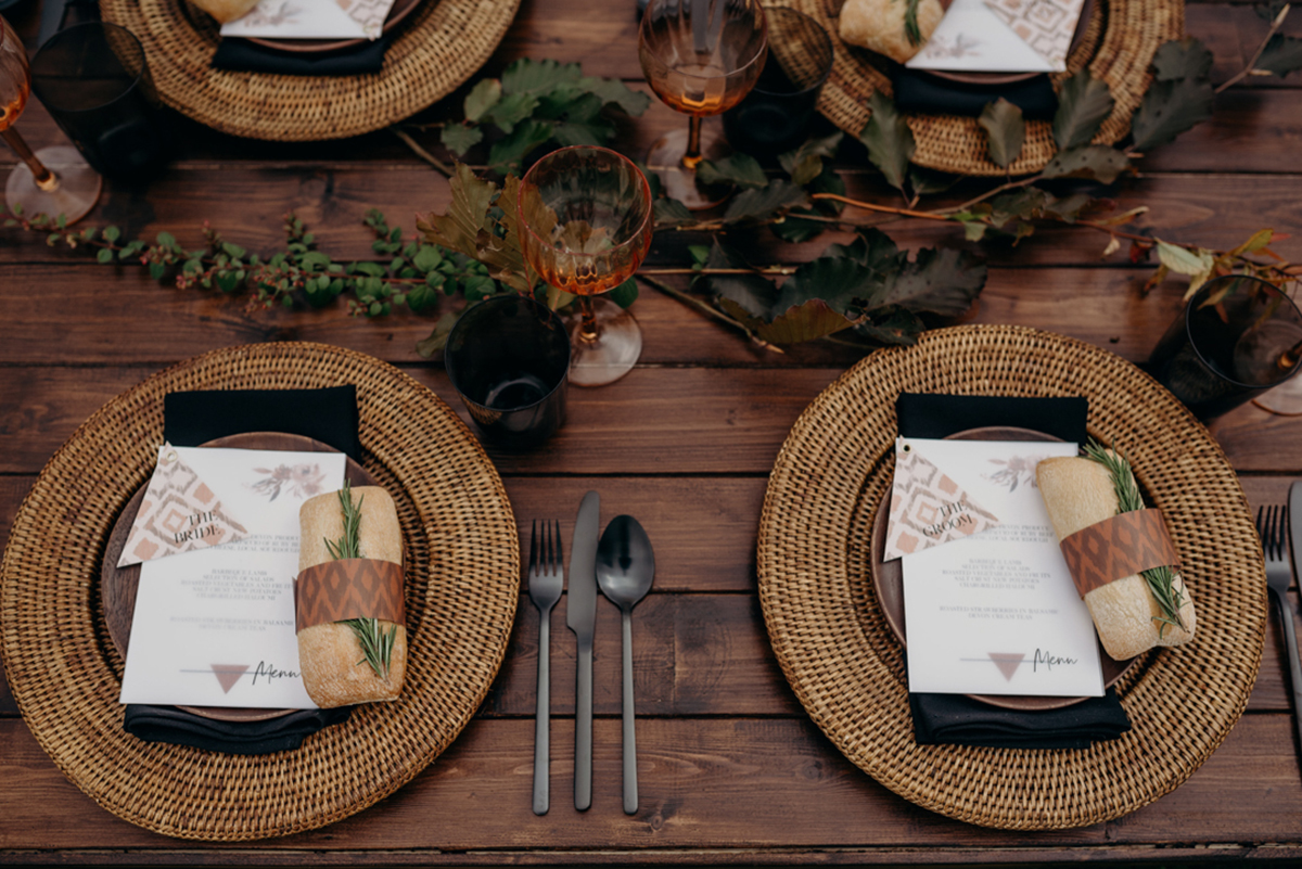 luxury festival wedding tablescape styled by Knots & Kisses