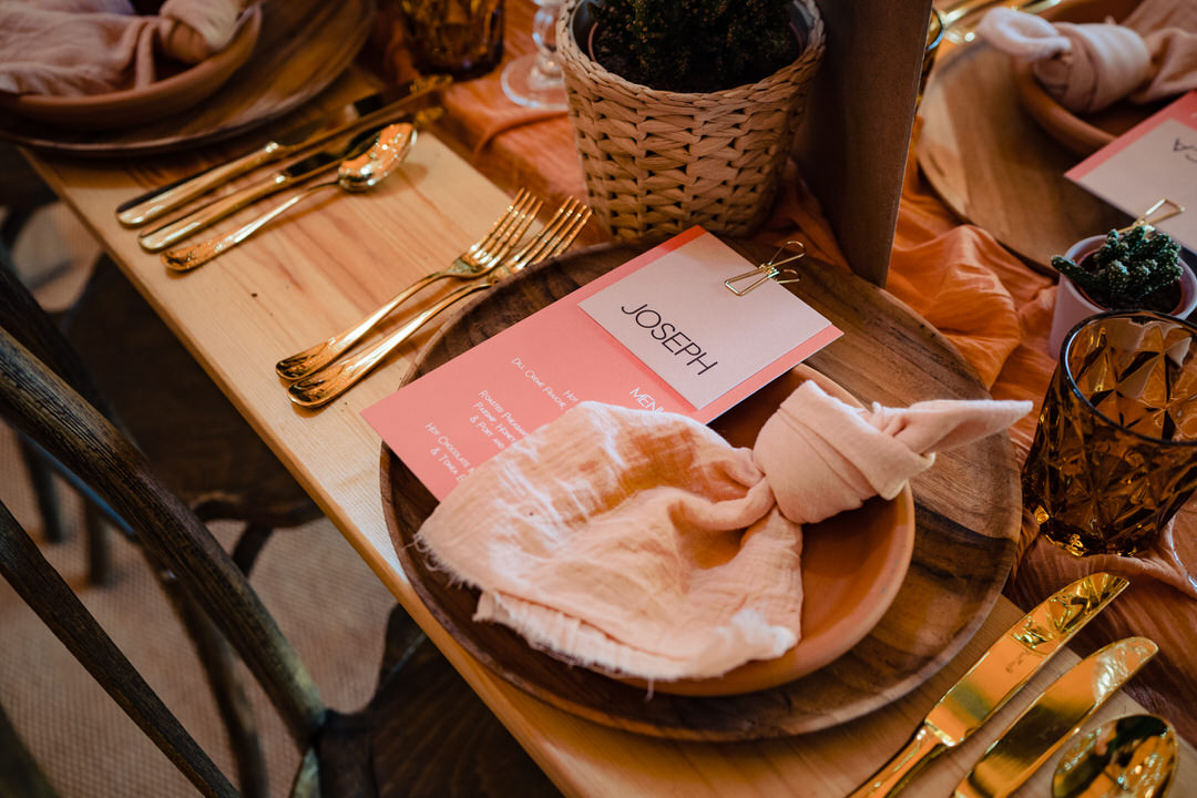 styled micro weddings boho tablescape