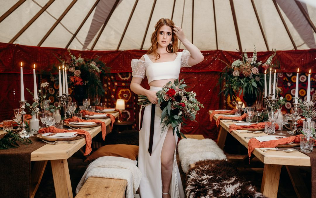 How to Style a Boho Winter Wedding